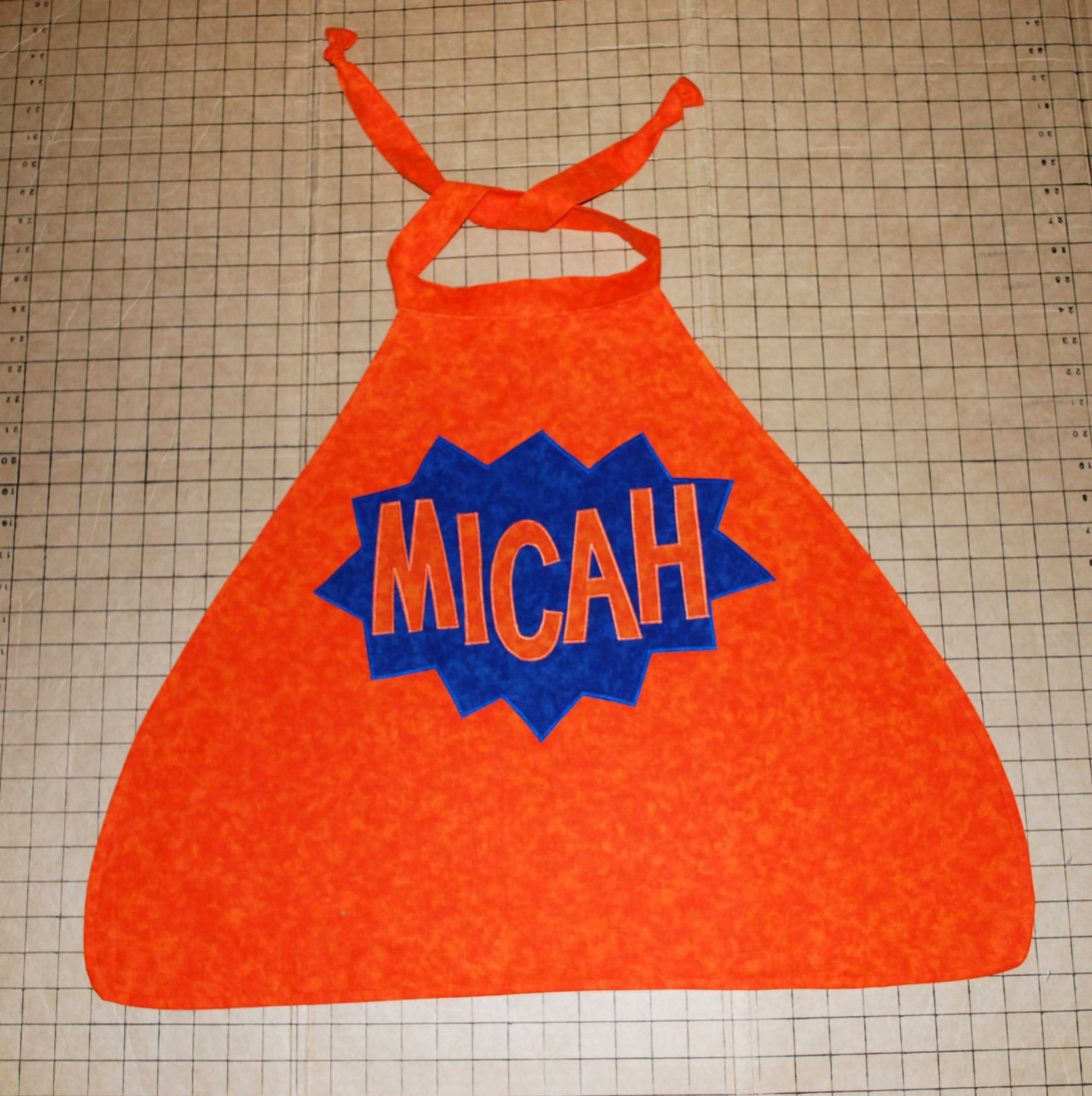 Personalized Micah Cape